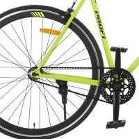 Велосипед городской Profi JOLLY 28 дюймов, рама 56 см, салатовый (G56JOLLY S700C-3)