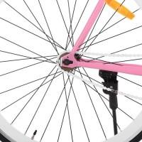 Велосипед городской Profi JOLLY 28 дюймов, рама 56 см, розовый (G56JOLLY S700C-4)