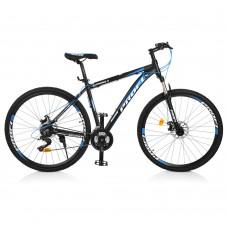 "Велосипед найнер Profi SUPREME 29 дюймов, рама 19"", черно-голубой (EB29SUPREME1.0 A29.1)"