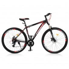 """Велосипед найнер Profi SUPREME 29 дюймов, рама 19"""", черно-красный (EB29SUPREME2.0 A29.1)"""