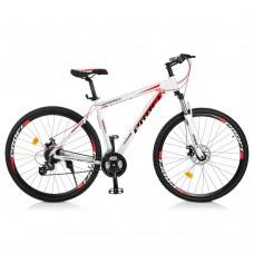 "Велосипед найнер Profi SUPREME 29 дюймов, рама 19"", красно-белый (EB29SUPREME2.0 A29.2)"