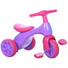 Трехколесный велосипед Turbo Trike M 601S - 1, EVA колеса, малиново-фиолетовый