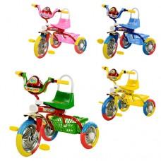 Трехколесный велосипед Bambi B 2-1 - 6010, EVA колеса, микс цветов