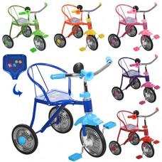 Трехколесный велосипед Bambi LH - 701 M, EVA колеса, микс цветов
