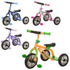 Трехколесный велосипед Prof1 Kids M 0688-1, EVA колеса, микс цветов