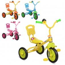 Трехколесный велосипед Bambi M 1190, EVA колеса, микс цветов