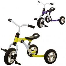 Трехколесный велосипед Bambi M 3207 A - 2, надувные колеса, микс цветов