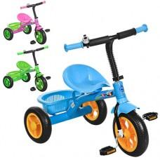 Трехколесный велосипед Prof1 Kids M 3252-M, EVA колеса, микс цветов