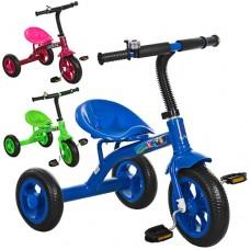 Трехколесный велосипед Prof1 Kids M 3252, EVA колеса, микс цветов