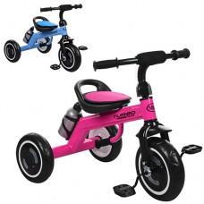 Трехколесный велосипед Turbo Trike M 3648 - M - 1, EVA колеса, микс цветов