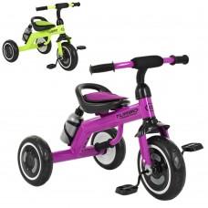 Трехколесный велосипед Turbo Trike M 3648 - M - 2, EVA колеса, микс цветов
