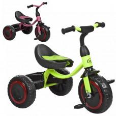 Трехколесный велосипед Turbo Trike M 3649-M-1, EVA колеса, пурпурный и лимонный