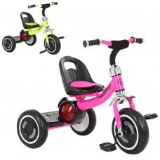 Трехколесный велосипед Turbo Trike M 3650 - M - 2, EVA колеса, малиновый и салатовый