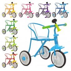 Трехколесный велосипед Bambi M 5335, EVA колеса, микс цветов