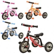 Трехколесный велосипед Prof1 Kids M 0688-2, EVA колеса, микс цветов