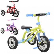 Трехколесный велосипед Prof1 Kids M 0688-3, EVA колеса, микс цветов
