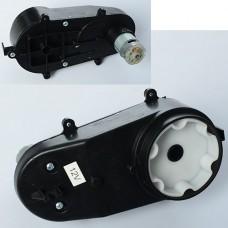 Редуктор в сборе с мотором M 3672-GEAR для электром M 3672, 12V, RPM6000