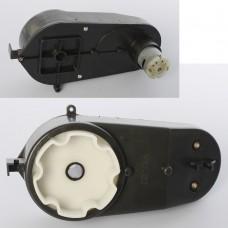 Редуктор в сборе с мотором M 4166-GEAR BOX для электром M 4166, 6V, RPM12000, дл.17см