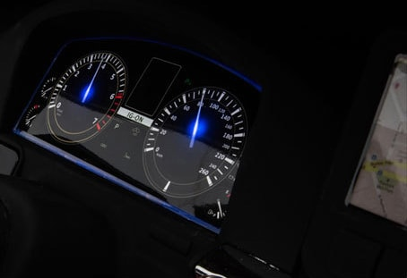 Bambi M 3906 (MP4) EBLR-1 Lexus LX 570 панель приборов