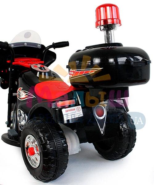 багажник детского черного мотоцикла Bambi M 4251-2