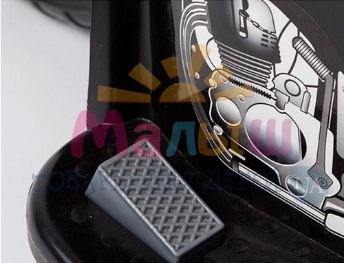 педаль детского черного мотоцикла Bambi M 4251-2